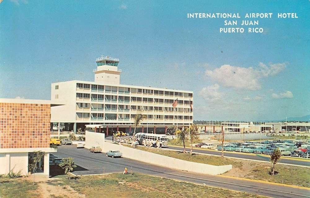 san juan puerto rico international airport hotel vintage. Black Bedroom Furniture Sets. Home Design Ideas