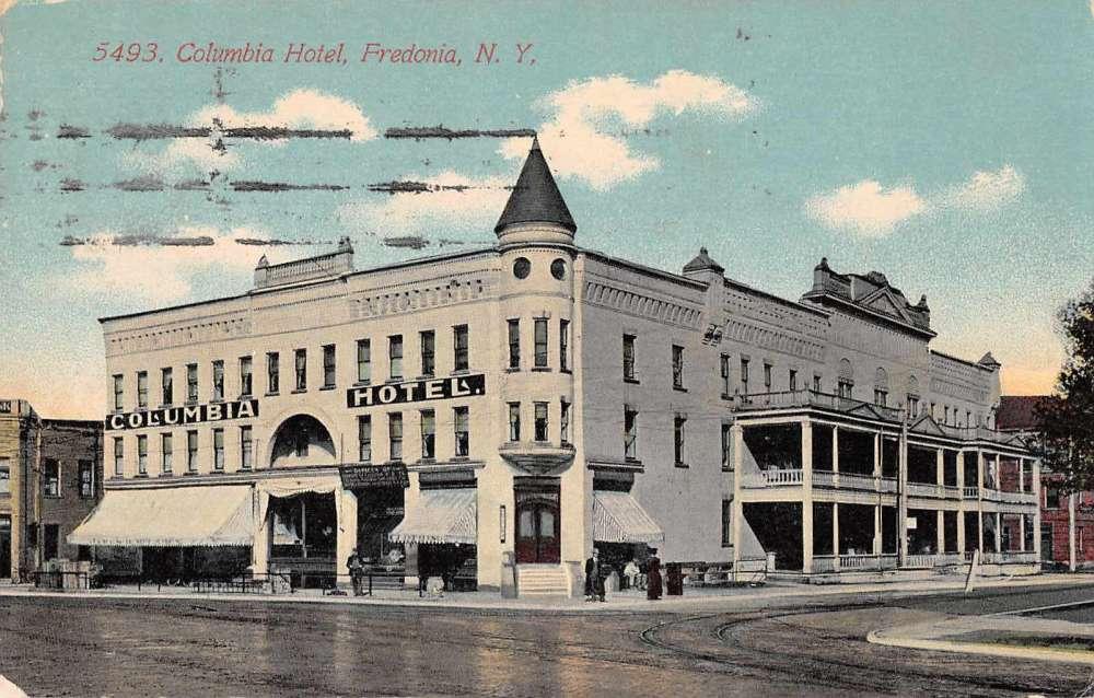 Fredonia New York Columbia Hotel Antique Postcard J60307 Ebay