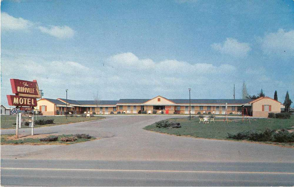 Maryville Tennessee 411 Motel Street View Linen Antique