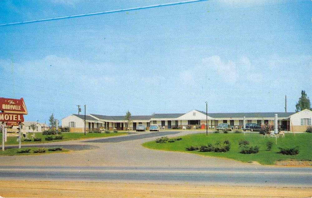 Maryville Tennessee 411 Motel Linen Antique Postcard