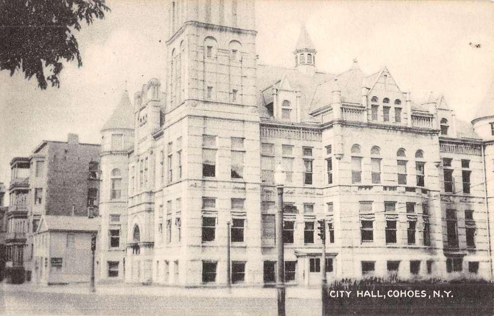 Parkersburg West Virginia City Hall Street View Antique
