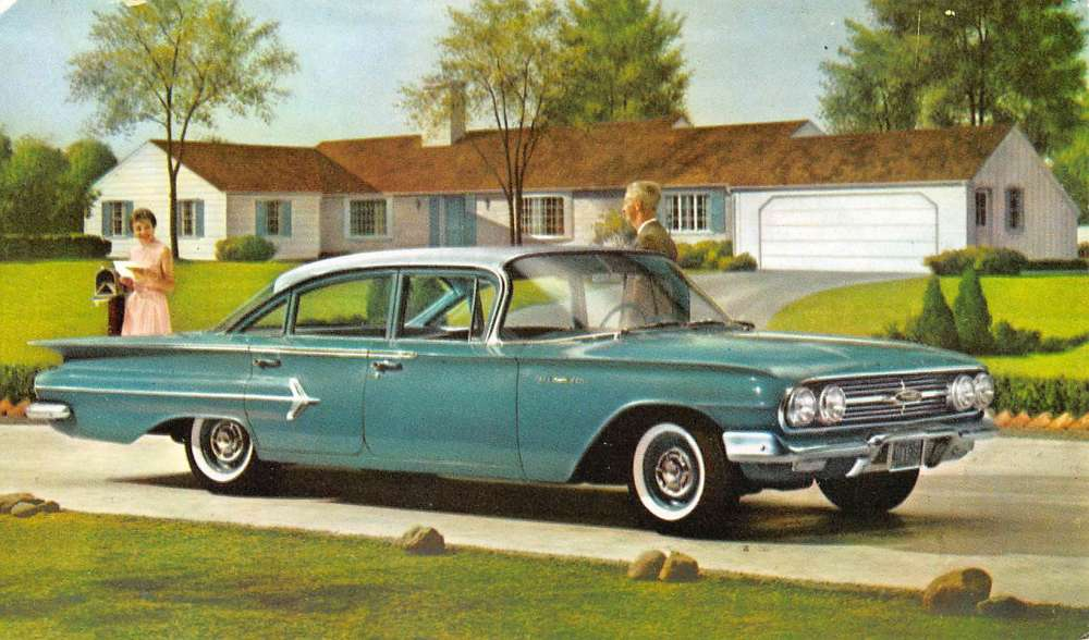 Image result for 1960 bel air