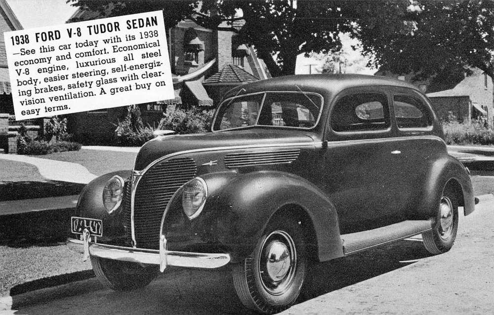 Hanover Maryland 1938 Ford V8 Tudor Sedan Early Auto Car Antique ...
