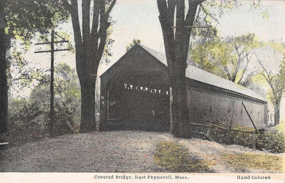 Panoramio - Photo of Covered Bridge - Pepperell, MA (2010)