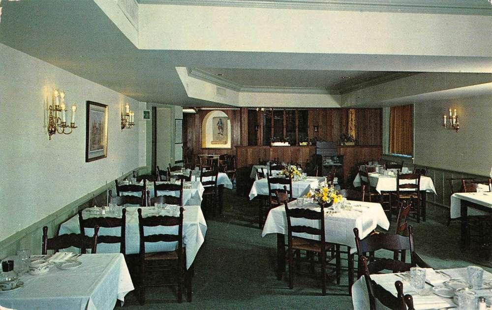 Annapolis Maryland Treadway Inn Greenberry Room Vintage Postcard K86959